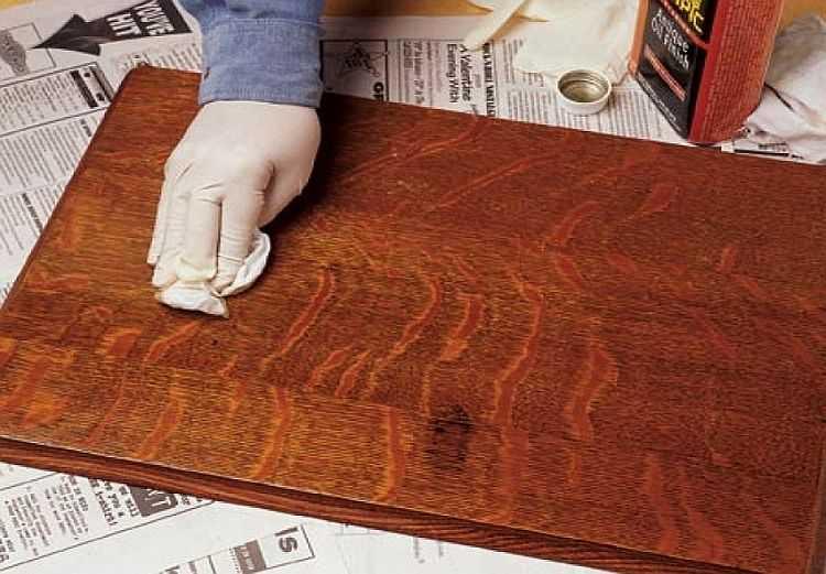 Как покрасить столешницу из дерева своими руками 92