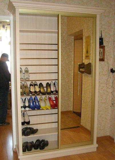 Шкафы в узкую прихожую своими руками