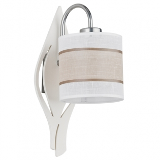 Бра TK Lighting 330 Cattleya White