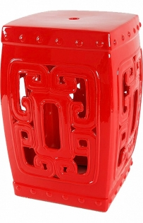 Подставка Oriental Stool Red DG-F-TAB63
