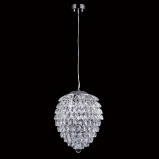 Подвесной светильник Crystal Lux Charme SP3+3 LED Cromo/Crystal D350