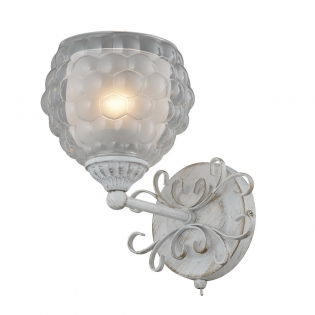 Бра IDLamp Bella 285/1A-Whitepatina